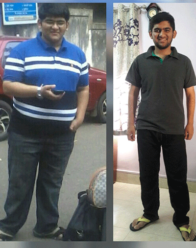 Reduced around 40 Kgs in just 15 months!